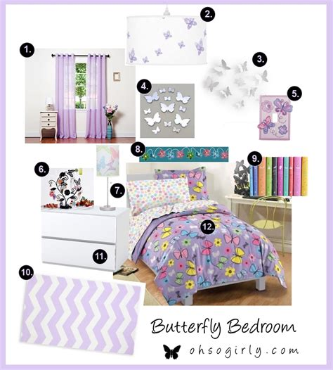 butterfly bedroom butterfly bedroom accessories oh so girly