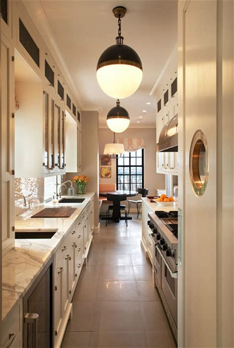 kitchen and light gallery 22 stylish narrow kitchen ideas godfather style