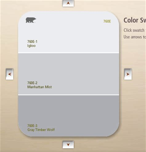 behr paint colors igloo of three march 2012