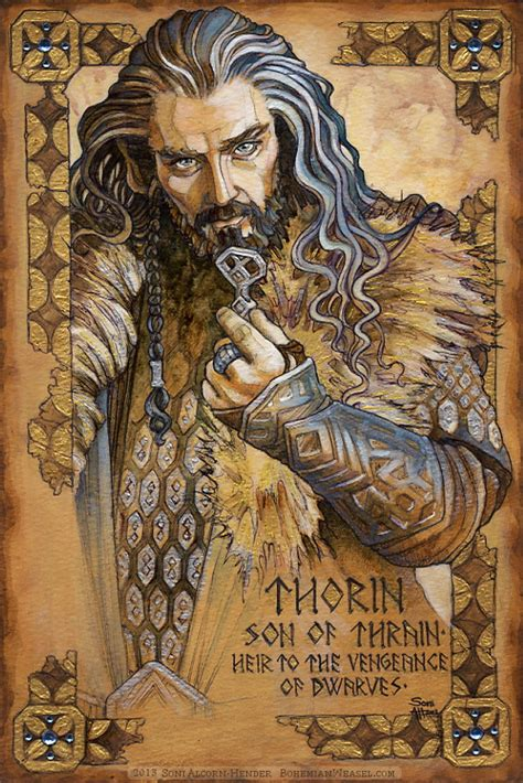 hobbit illumination thorin vengeance of dwarves by