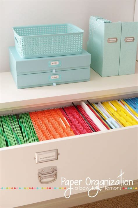 best home organization 25 best home filing system ideas on filing
