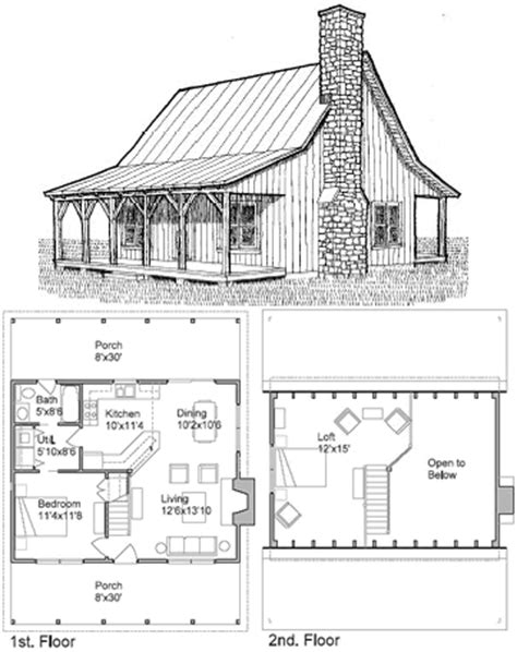 small cabin floor plans with loft small cottage plans with loft cottage house plans