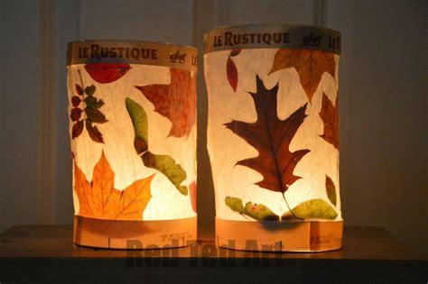 lantern craft leaf lanterns ted s