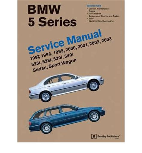 auto repair manual online 2003 bmw 5 series parking system bmw 5 series service manual 1997 2003 e39 sagin workshop car manuals repair books