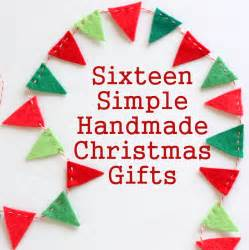 easy crafts to make as gifts 16 simple handmade gift tutorials diary of a