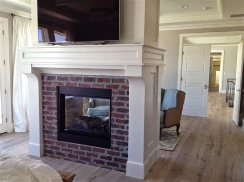 Kitchen Mantel Ideas brick fireplaces with white surround mantels hearth and
