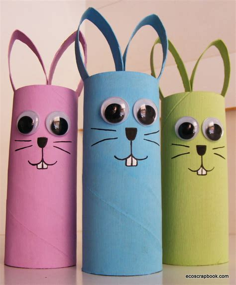 crafts toilet paper preschool crafts for easter bunny toilet roll craft