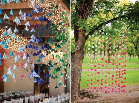 hanging decoration wedding streamer and hanging decor venue safari