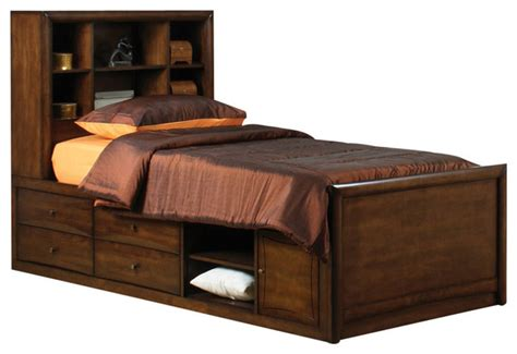 chocolate brown bedroom furniture coaster scottsdale youth chest bed chocolate