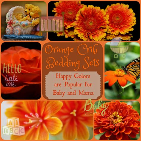 orange crib bedding sets orange crib bedding sets bright cheerful happy for baby