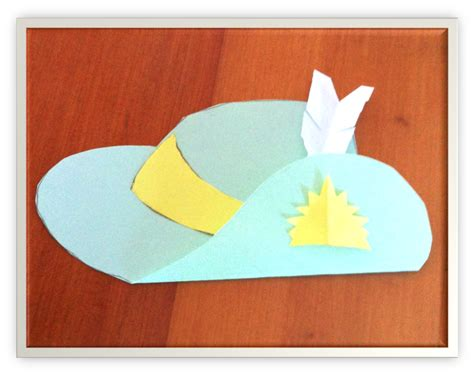 paper hat craft the learning curve lest we forget