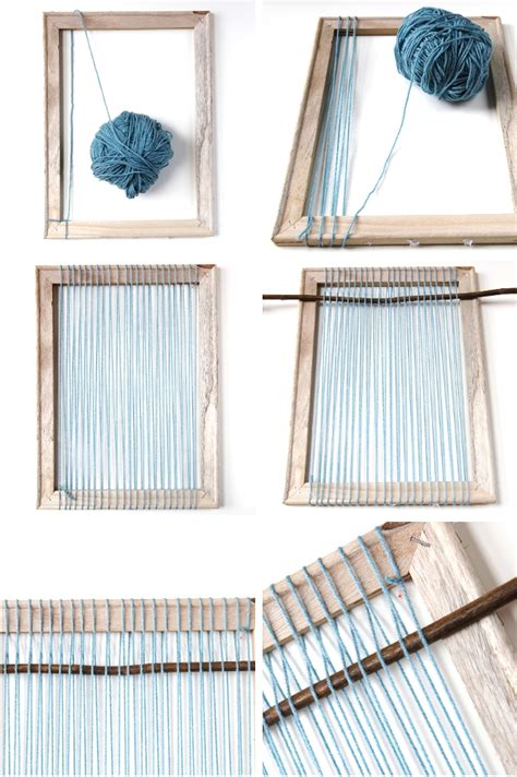 how to weave without a loom inspired by weaving part 1 tools looms