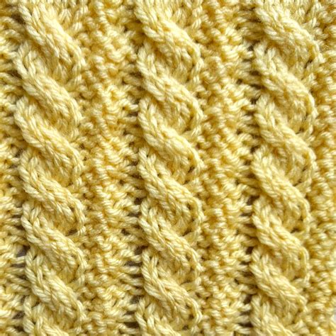 reversible knit stitches reversible ropes stitch purl avenue