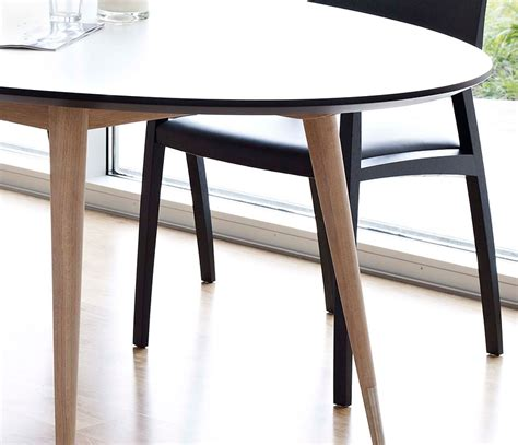 White Oval Dining Table Uk by Oval Retro Dining Table Dm9900 Wharfside Furniture