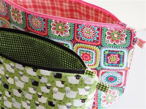sewing pattern for knitting project bag project bag tutorial