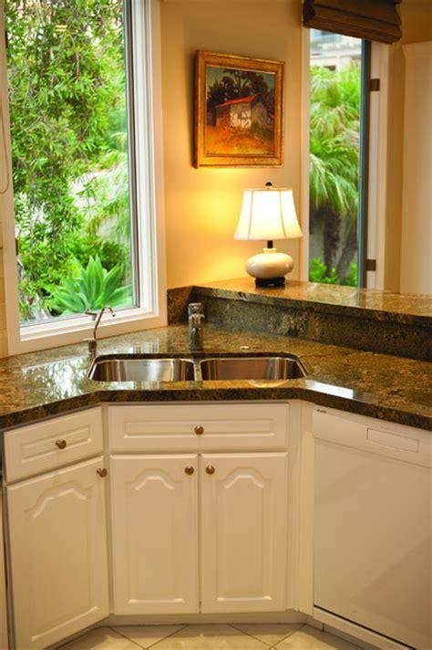 kitchen sink in corner corner kitchen sink