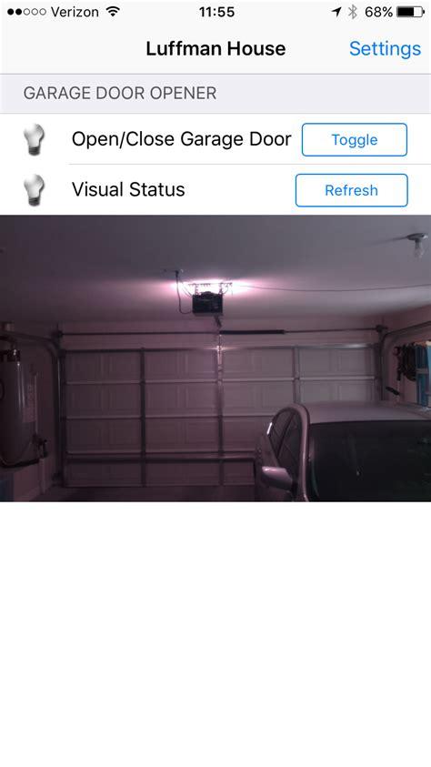 home automation garage door gallery home automation garage door opener hackaday io