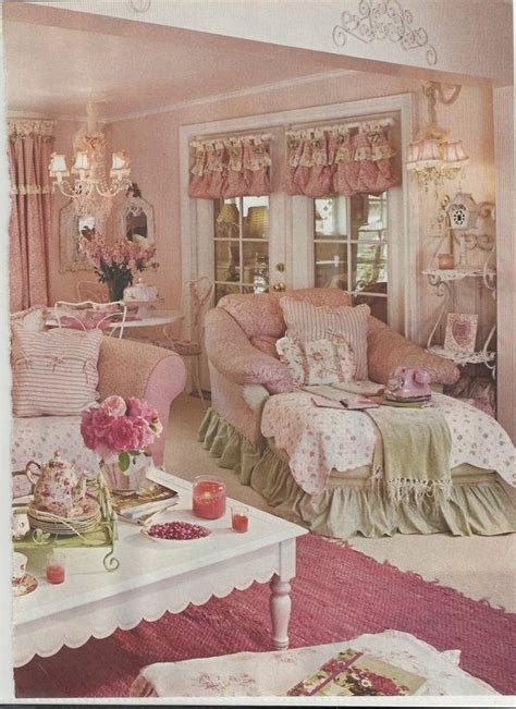 pink living room 17 best images about shabby chic living room on