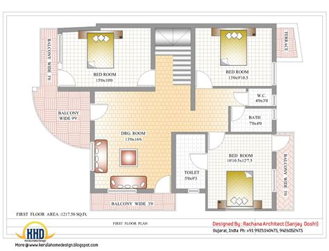 house floor plans india indian home design with house plan 2435 sq ft kerala
