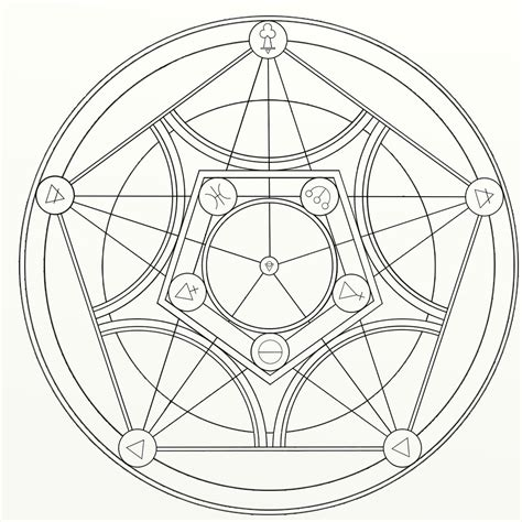 plant transmutation circle by mimexe on deviantart