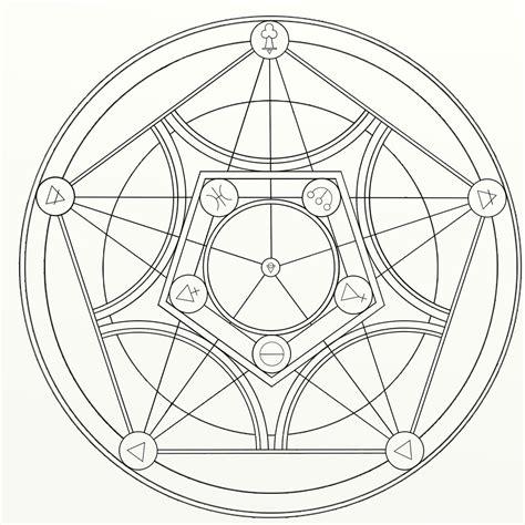plant transmutation circle by mimexe on deviantart