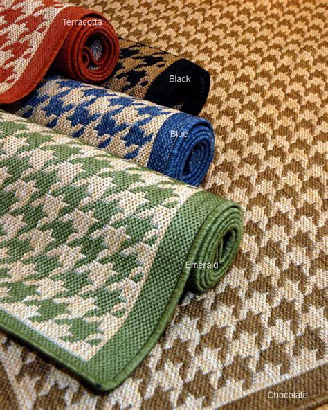 overstock outdoor rugs houndstooth polypropylene area rug contemporary