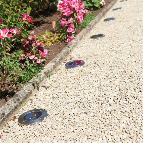 solar floor lights solar floor lights 4 garden lights garden