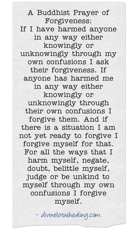 buddha prayer buddhist forgiveness prayer lotus healing