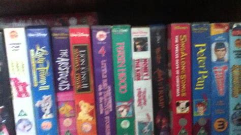 my vhs and dvd collection
