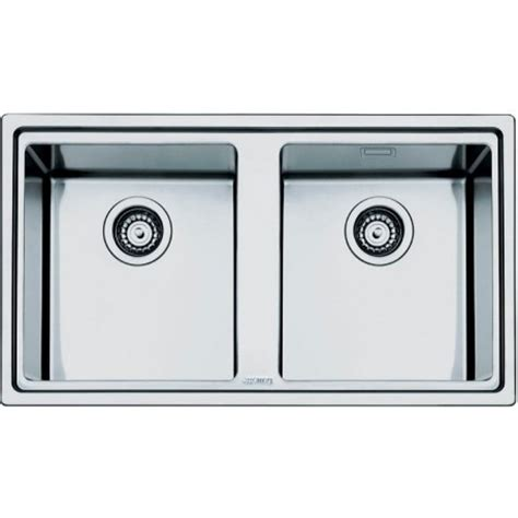smeg kitchen sinks available the smeg ld862 2 mira kitchen sink 2 bowls brushed stainless