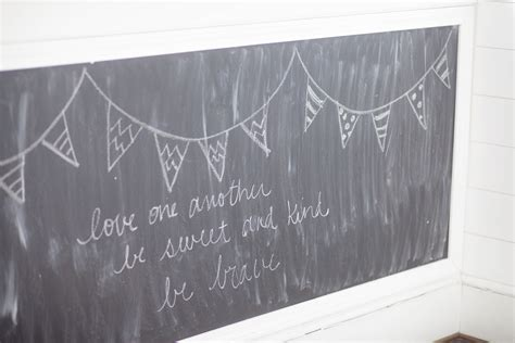 diy chalkboard walls diy chalkboard wall restless arrow