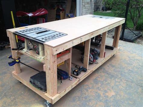garage bench designs 17 best ideas about workbench plans on work