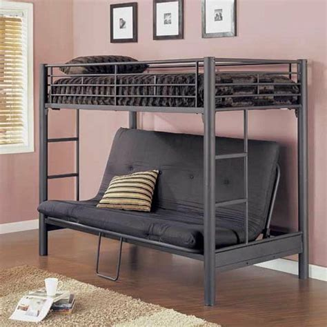 bunk beds with a futon ikea futon bunk bed for more space
