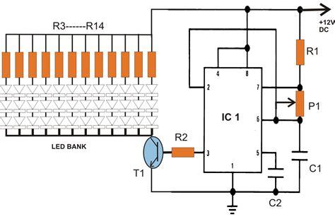 lights circuit 40 watt led emergency tubelight circuit using 1 watt 350