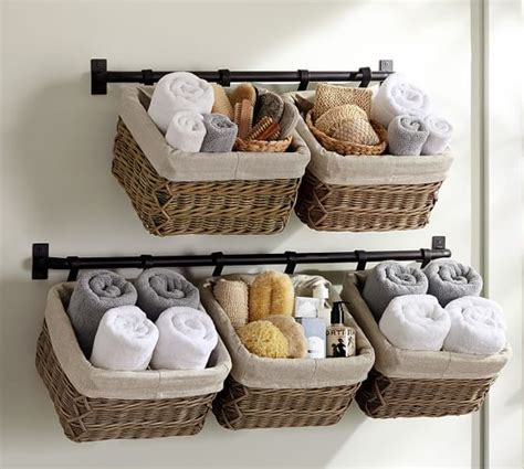 Bathroom Basket Ideas by 17 Best Ideas About Wall Basket On Hanging