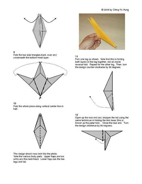 origami monkey diagram origami monkey v2 by cy hung