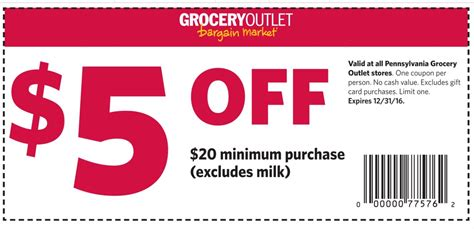 shipwreck coupon grocery outlet 5 20 coupon ship saves