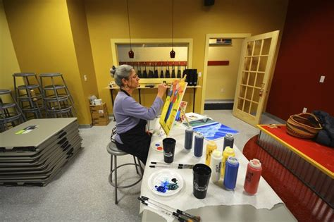 paint with a twist traverse city mi wine paint business record eagle