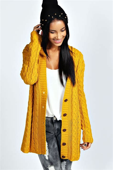 cable knit sweater cardigan cable knit cardigan knitted chaquetas