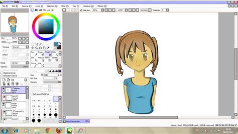 tool sai indo cara memakai paint tool sai secara sederhana otaku indonesia