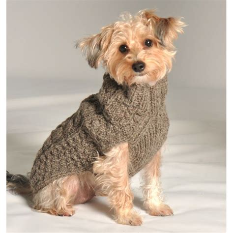 cable knit sweater for dogs grey cable knit sweater by chilly at glamourmutt