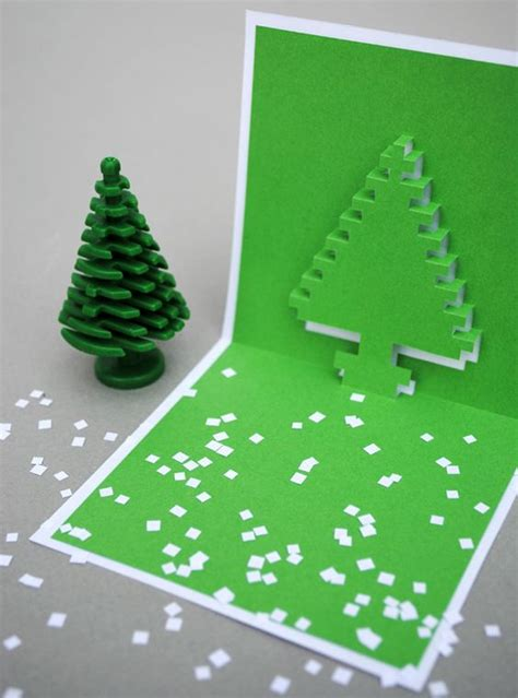 how to make a pixel pop up card how to make 3d pixel pop up cards popup