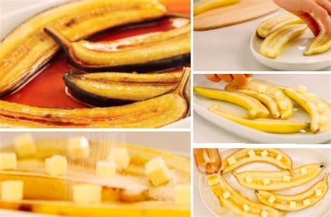 bananes au four un dessert simple et rapide la recette