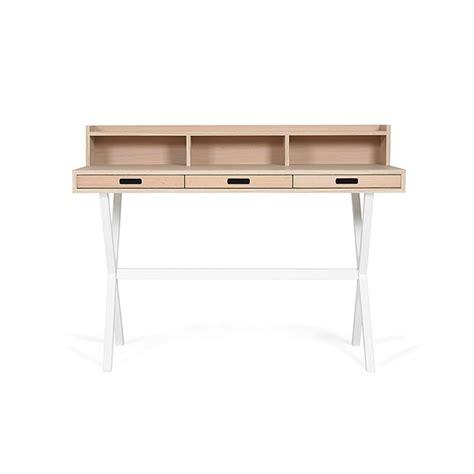Table En Bois Blanc 4058 by Secr 233 Taire Hyppolite Blanc Hart 244 Pour Chambre Enfant