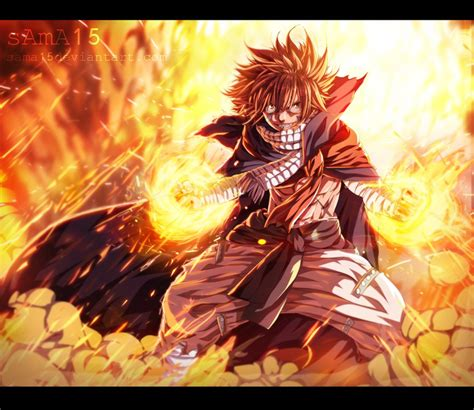 fairy tail 418 natsu back by sama15 on deviantart