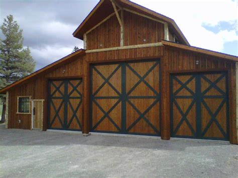 barn door garage door duper custom home garage custom garage barn door