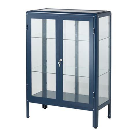 ikea fabrikor fabrik 214 r glass door cabinet blue ikea