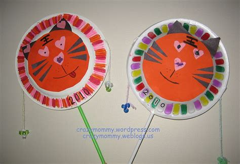 asian crafts for tiger drum family crafts