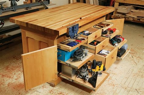 woodworking drawers aw workbench popular woodworking magazine