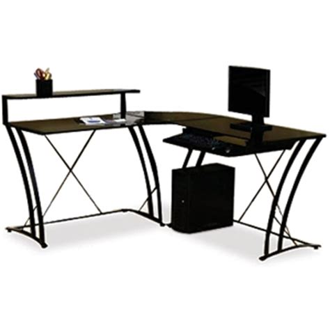 l shaped studio desk studio rta 408111 deco l shaped desk black at